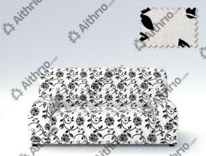 Ελαστικά καλύμματα καναπέ Acapulco-Τετραθέσιος-Λευκό-10+ Χρώματα Διαθέσιμα-Καλύμματα Σαλονιού