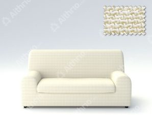 Ελαστικά καλύμματα καναπέ Ξεχωριστό Μαξιλάρι Bielastic Alaska-Διθέσιος-Ιβουάρ-10+ Χρώματα Διαθέσιμα-Καλύμματα Σαλονιού