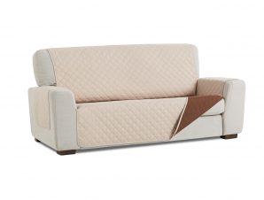 Σταθερά Καλύμματα Διπλής Όψης Universal Quilt – Μπεζ/Καφέ – Πολυθρόνα-10+ Χρώματα Διαθέσιμα-Καλύμματα Σαλονιού