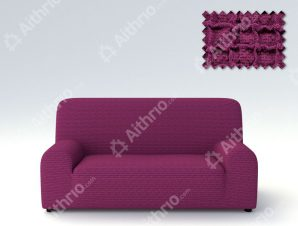 Ελαστικά Καλύμματα Προσαρμογής Σχήματος Καναπέ Canada – C/9 Μωβ – Πολυθρόνα-10+ Χρώματα Διαθέσιμα-Καλύμματα Σαλονιού