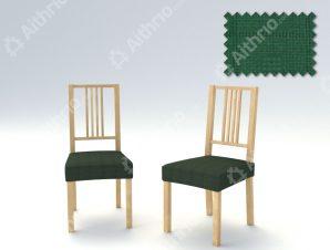 Σετ (2 Τμχ) Ελαστικά Καλύμματα-Καπάκια Καρέκλας Tania – C/6 Πράσινο