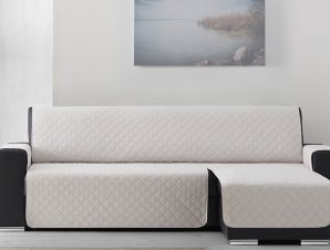 Σταθερά Καλύμματα Καναπέ Γωνία Universal Quilt – C/1 Ιβουάρ – Γωνία 240cm