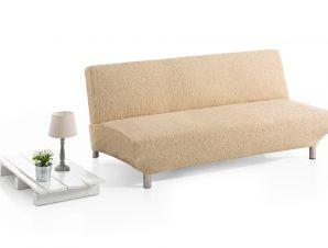 Ελαστικά Καλύμματα Καναπέ Κρεβάτι Click Clack Valencia-Μπεζ