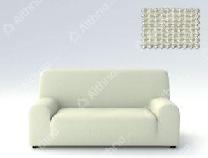 Ελαστικά Καλύμματα Καναπέ Creta – C/1 Ιβουάρ – Πολυθρόνα-10+ Χρώματα Διαθέσιμα-Καλύμματα Σαλονιού