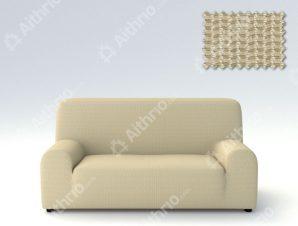 Ελαστικά Καλύμματα Καναπέ Creta – C/2 Μπεζ – Πολυθρόνα-10+ Χρώματα Διαθέσιμα-Καλύμματα Σαλονιού