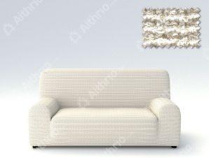 Ελαστικά Καλύμματα Προσαρμογής Σχήματος Καναπέ Elegant – C/1 Ιβουάρ – Διθέσιος-10+ Χρώματα Διαθέσιμα-Καλύμματα Σαλονιού
