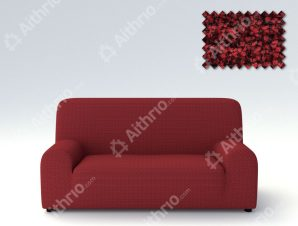 Ελαστικά Καλύμματα Προσαρμογής Σχήματος Καναπέ Elegant – C/5 Μπορντώ – Πολυθρόνα-10+ Χρώματα Διαθέσιμα-Καλύμματα Σαλονιού
