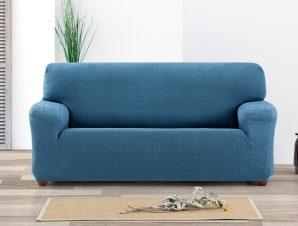 Ελαστικά καλύμματα καναπέ Tania-Πολυθρόνα-Γαλάζιο-10+ Χρώματα Διαθέσιμα-Καλύμματα Σαλονιού