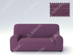 Ελαστικά καλύμματα καναπέ Ibiza-Τετραθέσιος-Μωβ-10+ Χρώματα Διαθέσιμα-Καλύμματα Σαλονιού