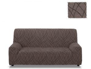 Ελαστικά καλύμματα καναπέ Karen-Πολυθρόνα-Γκρι-10+ Χρώματα Διαθέσιμα-Καλύμματα Σαλονιού
