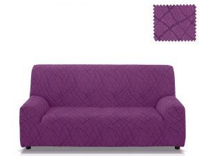 Ελαστικά καλύμματα καναπέ Karen-Πολυθρόνα-Μωβ-10+ Χρώματα Διαθέσιμα-Καλύμματα Σαλονιού
