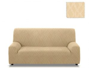 Ελαστικά καλύμματα καναπέ Karen-Τετραθέσιος-Ιβουάρ-10+ Χρώματα Διαθέσιμα-Καλύμματα Σαλονιού
