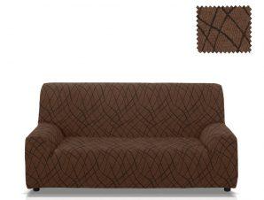 Ελαστικά καλύμματα καναπέ Karen-Διθέσιος-Καφέ-10+ Χρώματα Διαθέσιμα-Καλύμματα Σαλονιού