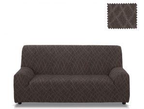 Ελαστικά καλύμματα καναπέ Karen-Τετραθέσιος-Μαύρο-10+ Χρώματα Διαθέσιμα-Καλύμματα Σαλονιού