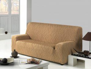 Ελαστικά καλύμματα καναπέ Karen-Διθέσιος-Μπεζ-10+ Χρώματα Διαθέσιμα-Καλύμματα Σαλονιού
