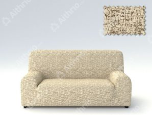Ελαστικά καλύμματα καναπέ Malta-Μπεζ-Τριθέσιος-5 Χρώματα Διαθέσιμα