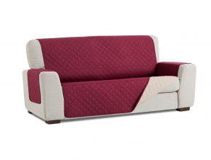 Σταθερά Καλύμματα Διπλής Όψης Universal Quilt – Μωβ/Μπεζ- Πολυθρόνα-10+ Χρώματα Διαθέσιμα-Καλύμματα Σαλονιού