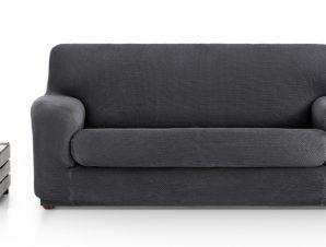Ελαστικά καλύμματα καναπέ Ξεχωριστό Μαξιλάρι Bielastic Alaska-Διθέσιος-Γκρι-10+ Χρώματα Διαθέσιμα-Καλύμματα Σαλονιού