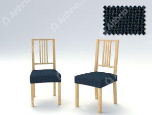 Σετ (2 Τμχ) Ελαστικά Καλύμματα-Καπάκια Καρέκλας Bielastic Alaska – C/25 Ναυτικό Μπλε