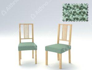 Σετ (2 Τμχ) Ελαστικά Καλύμματα-Καπάκια Καρέκλας Super Stretch Milos – C/23 Μέντα