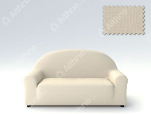 Ελαστικά Καλύμματα Καναπέ Αχιβάδα, Πολυθρόνας σχ. Peru-Ιβουάρ-Τετραθέσιος-10+ Χρώματα Διαθέσιμα-Καλύμματα Σαλονιού