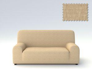Ελαστικά καλύμματα καναπέ Peru-Τριθέσιος-Μπεζ-10+ Χρώματα Διαθέσιμα-Καλύμματα Σαλονιού