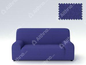 Ελαστικά Καλύμματα Προσαρμογής Σχήματος Καναπέ Peru-Μπλε-Πολυθρόνα-10+ Χρώματα Διαθέσιμα-Καλύμματα Σαλονιού