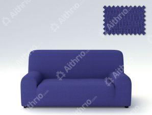 Ελαστικά Καλύμματα Προσαρμογής Σχήματος Καναπέ Peru-Μπλε-Διθέσιος-10+ Χρώματα Διαθέσιμα-Καλύμματα Σαλονιού