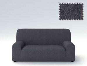 Ελαστικά καλύμματα καναπέ Peru-Τριθέσιος-Γκρι-10+ Χρώματα Διαθέσιμα-Καλύμματα Σαλονιού