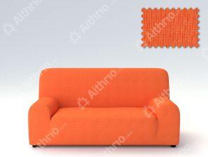 Ελαστικά καλύμματα καναπέ Peru-Τετραθέσιος-Πορτοκαλί-10+ Χρώματα Διαθέσιμα-Καλύμματα Σαλονιού