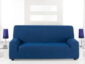 Ελαστικά καλύμματα καναπέ Peru-Τριθέσιος-Μπλε-10+ Χρώματα Διαθέσιμα-Καλύμματα Σαλονιού