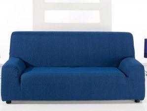 Ελαστικά καλύμματα καναπέ Peru-Τετραθέσιος-Μπλε-10+ Χρώματα Διαθέσιμα-Καλύμματα Σαλονιού