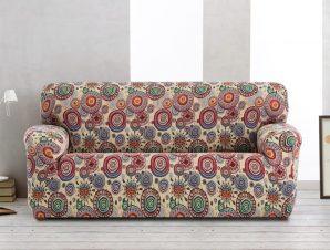Ελαστικά καλύμματα καναπέ Singapore-Τριθέσιος-10+ Χρώματα Διαθέσιμα-Καλύμματα Σαλονιού