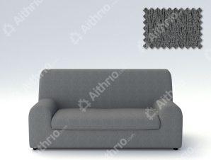 Ελαστικά καλύμματα καναπέ Ξεχωριστό Μαξιλάρι Valencia-Τριθέσιος-Γκρι-10+ Χρώματα Διαθέσιμα-Καλύμματα Σαλονιού