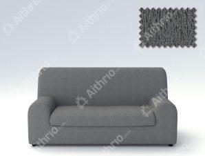 Ελαστικά καλύμματα καναπέ Ξεχωριστό Μαξιλάρι Valencia-Διθέσιος-Γκρι-10+ Χρώματα Διαθέσιμα-Καλύμματα Σαλονιού