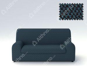 Ελαστικά καλύμματα καναπέ Ξεχωριστό Μαξιλάρι Bielastic Viena-Τετραθέσιος-Μπλε-10+ Χρώματα Διαθέσιμα-Καλύμματα Σαλονιού
