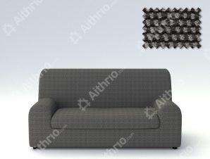 Ελαστικά καλύμματα καναπέ Ξεχωριστό Μαξιλάρι Bielastic Viena-Διθέσιος-Γκρι-10+ Χρώματα Διαθέσιμα-Καλύμματα Σαλονιού
