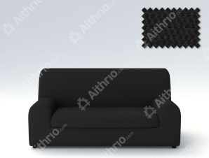 Ελαστικά καλύμματα καναπέ Ξεχωριστό Μαξιλάρι Bielastic Viena-Διθέσιος-Μαύρο-10+ Χρώματα Διαθέσιμα-Καλύμματα Σαλονιού