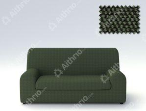 Ελαστικά καλύμματα καναπέ Ξεχωριστό Μαξιλάρι Bielastic Viena-Πολυθρόνα-Πράσινο-10+ Χρώματα Διαθέσιμα-Καλύμματα Σαλονιού