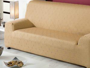 Ελαστικά καλύμματα καναπέ Tania-Διθέσιος-Μπεζ-10+ Χρώματα Διαθέσιμα-Καλύμματα Σαλονιού