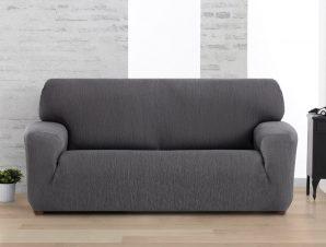 Ελαστικά καλύμματα καναπέ Valencia-Πολυθρόνα-Γκρι-10+ Χρώματα Διαθέσιμα-Καλύμματα Σαλονιού