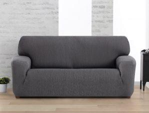 Ελαστικά καλύμματα καναπέ Valencia-Διθέσιος-Γκρι-10+ Χρώματα Διαθέσιμα-Καλύμματα Σαλονιού