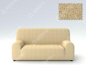 Ελαστικά καλύμματα καναπέ Valencia-Τριθέσιος-Μπεζ-10+ Χρώματα Διαθέσιμα-Καλύμματα Σαλονιού