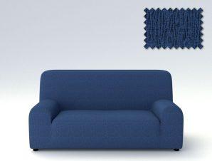 Ελαστικά καλύμματα καναπέ Valencia-Πολυθρόνα-Μπλε-10+ Χρώματα Διαθέσιμα-Καλύμματα Σαλονιού