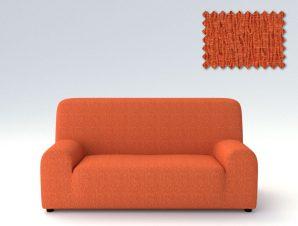 Ελαστικά καλύμματα καναπέ Valencia-Πολυθρόνα-Πορτοκαλί