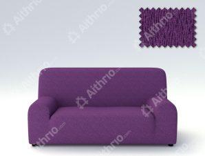 Ελαστικά καλύμματα καναπέ Valencia-Τετραθέσιος-Μωβ