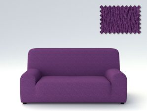 Ελαστικά καλύμματα καναπέ Valencia-Πολυθρόνα-Μωβ