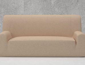 Ελαστικά καλύμματα καναπέ Valencia-Διθέσιος-Ιβουάρ-10+ Χρώματα Διαθέσιμα-Καλύμματα Σαλονιού