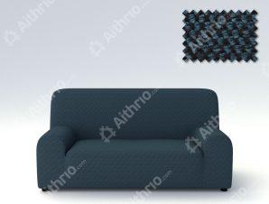 Ελαστικά Καλύμματα Προσαρμογής Σχήματος Καναπέ Viena – C/4 Μπλε – Τετραθέσιος-10+ Χρώματα Διαθέσιμα-Καλύμματα Σαλονιού