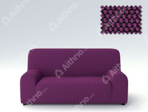 Ελαστικά Καλύμματα Προσαρμογής Σχήματος Καναπέ Viena – C/9 Μωβ – Διθέσιος-10+ Χρώματα Διαθέσιμα-Καλύμματα Σαλονιού